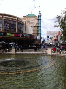 I took this photo at the Grove, while shoving a Red Velvet cupcake down my mouth. It was so delicious.