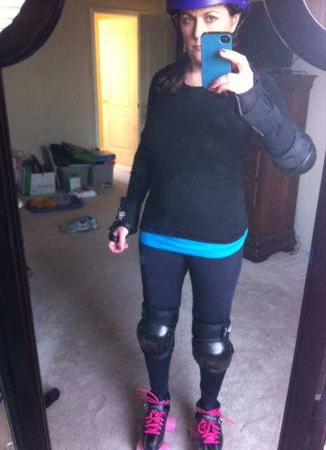 Here you go. Me in full gear, ready to roll